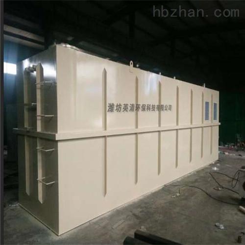 汉中污水一体化设备厂家价格