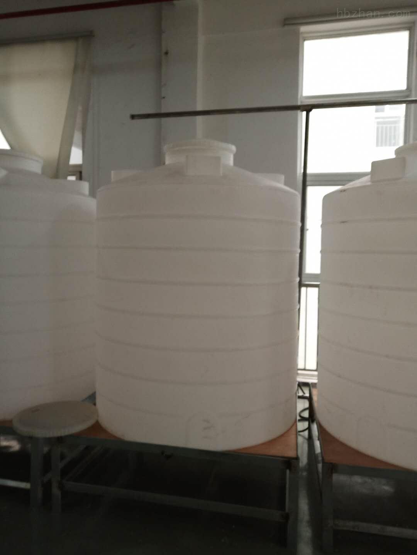 青岛1.5立方塑料纯水罐  水处理杀菌剂复配罐