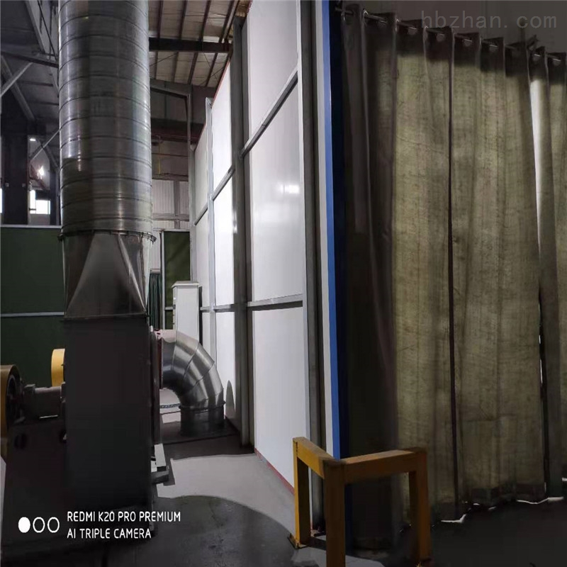 池州地吸式烤漆房设备生产厂家