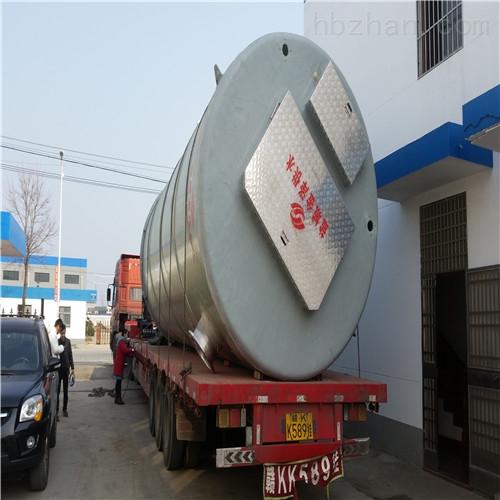 <strong><strong>地埋预制泵站 采用高强度一体化缠绕工艺</strong></strong>