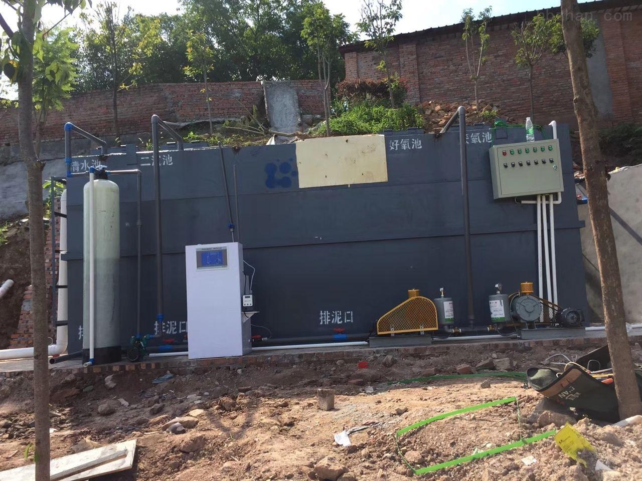 常德学校一体化预制泵站安装环境