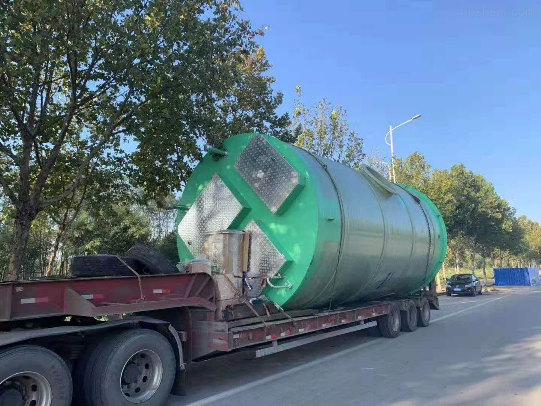 六盘水一体化预制泵站厂家价格