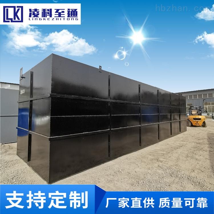 宁德食品厂一体化预制泵站污水提升设备