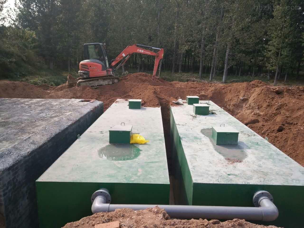 张家口养殖废水处理设备安装步骤